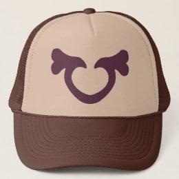 Heart Bone (Plum) Trucker Hat