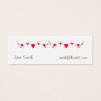 Heart Border Profile Card