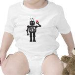Heart Bot Apparel Baby Creeper