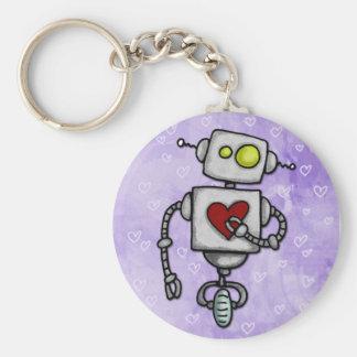 heart bot keychain