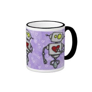 heart bot mug
