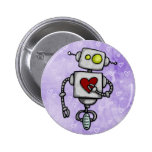 heart bot pinback button