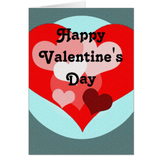 Heart Bouquet Valentine's Day Card
