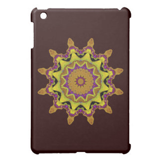 Heart Box Sun Gold Mandala iPad Mini Case