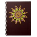 Heart Box Sun Gold Mandala Notebooks