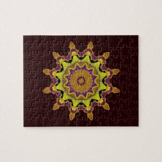 Heart Box Sun Gold Mandala Puzzles