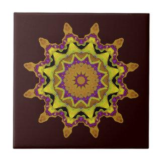 Heart Box Sun Gold Mandala Tiles
