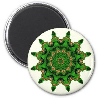 Heart Box Sun Green Magnet