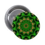 Heart Box Sun Green Pinback Buttons