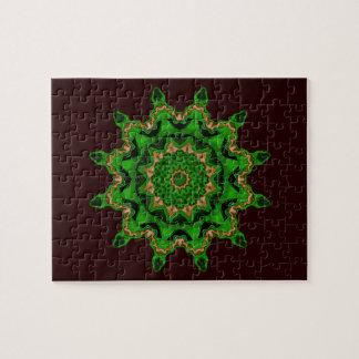 Heart Box Sun Green Puzzles
