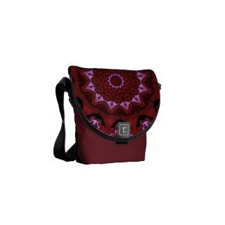 Heart Box Sun Rouge Mandala Messenger Bag