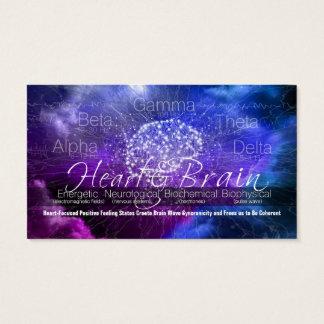 Heart & Brain Communication Business Card