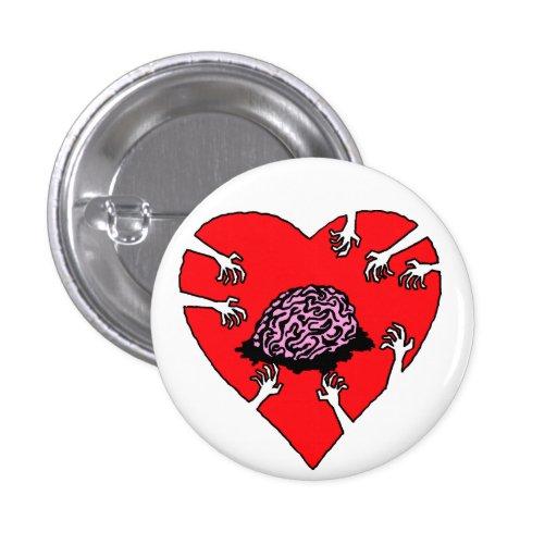 (Heart) Brains! Button