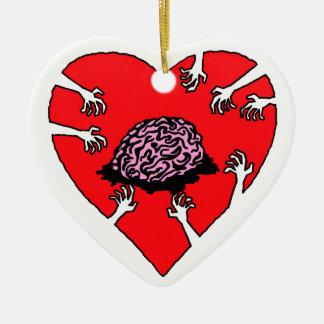 (Heart) Brains! Heart Ornament