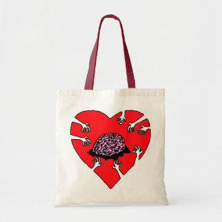 (Heart) Brains! Tote Bag