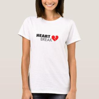 Heart Break by Poetry Lobby T-Shirt