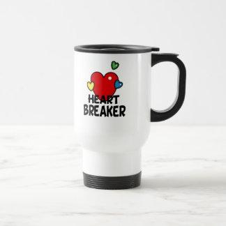 Heart breaker 15 oz stainless steel travel mug