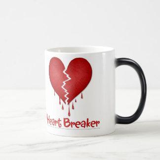 Heart Breaker Anti-Valentine Cup 11 Oz Magic Heat Color-Changing Coffee Mug