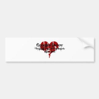 Heart Breaker Bumper Sticker