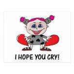 heart breaker hope u cry post cards