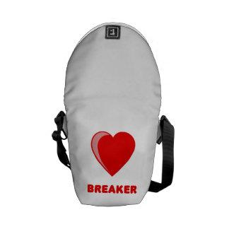 Heart Breaker Messenger Bags