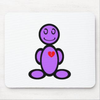 Heart-breaker (plain) mouse pad