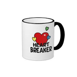 Heart breaker ringer coffee mug