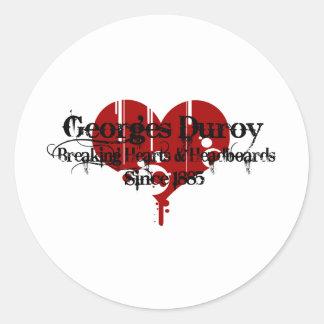Heart Breaker Round Sticker
