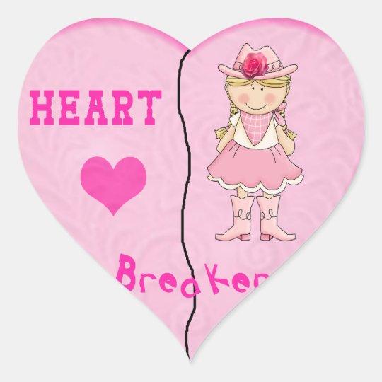 Heart Breaker Stickers