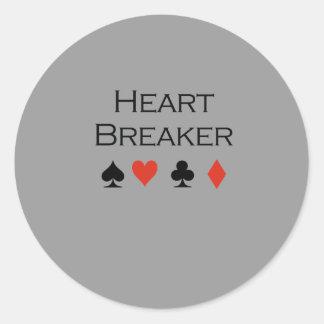 Heart breaker T-shirt Stickers