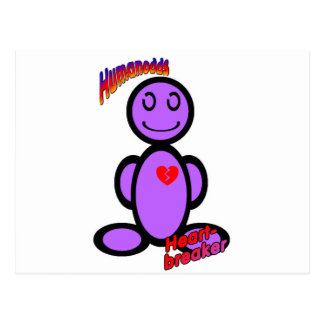 Heart-breaker (with logos) postcard