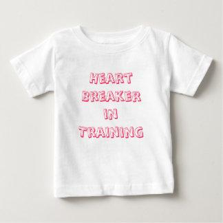 Heart BreakerinTraining Baby T-Shirt
