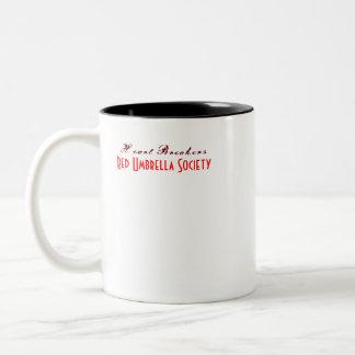Heart Breakers Two-Tone Coffee Mug