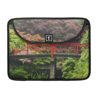 Heart Bridge with blossoming rhododendrons, MacBook Pro Sleeve