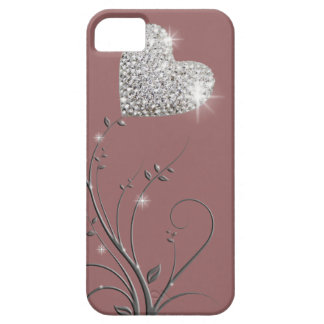 Heart brilliant lovely design iPhone 5 covers