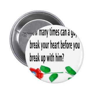 Heart Broken Pin