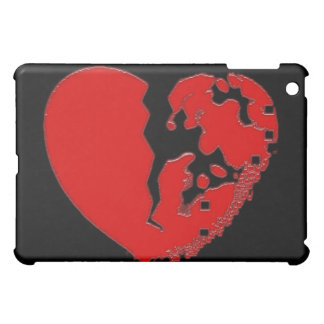 Heart Broken To Pieces. Designed on an iPad case