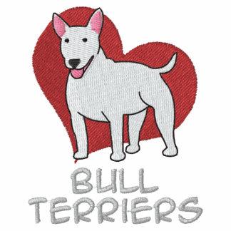 Heart Bull Terriers Hoodie