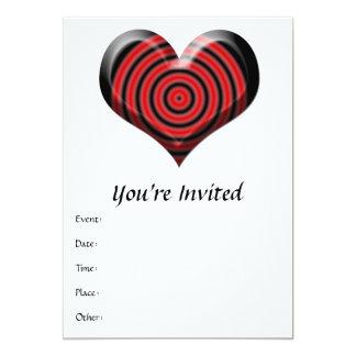 Heart Bullseye Card
