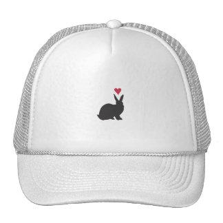 Heart Bunneh Trucker Hats