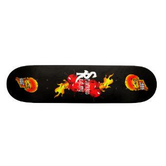 heart burn board skate deck