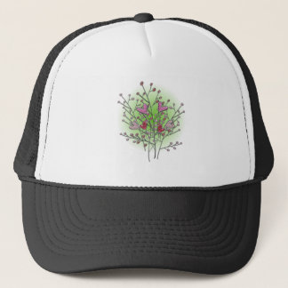 Heart bush hearts shrub trucker hat