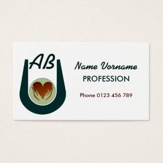 heart business card