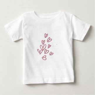 Heart Butterflies Baby T-Shirt
