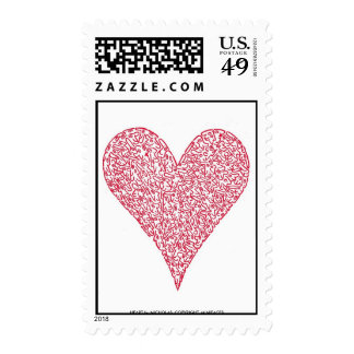 HEART by NICHOLAS_COPYRIGHT_MINIFACES Stamp
