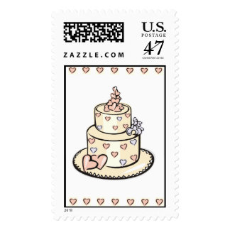 Heart Cake Stamps