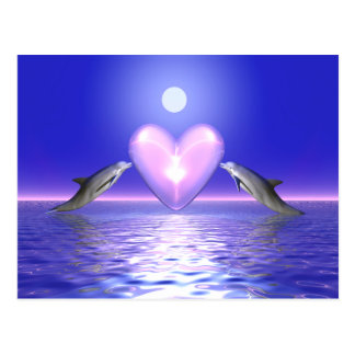 Heart Callers - Dolphins Postcard