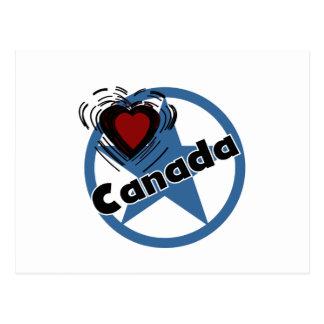 Heart Canada Postcard