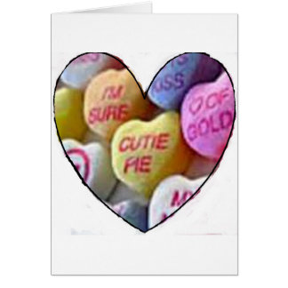HEART CANDY IMAGES ON ITEMS CARD