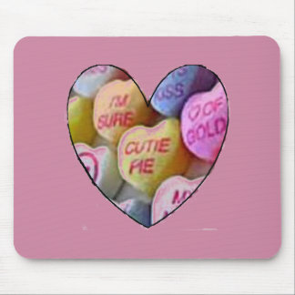 HEART CANDY IMAGES ON ITEMS MOUSE PAD